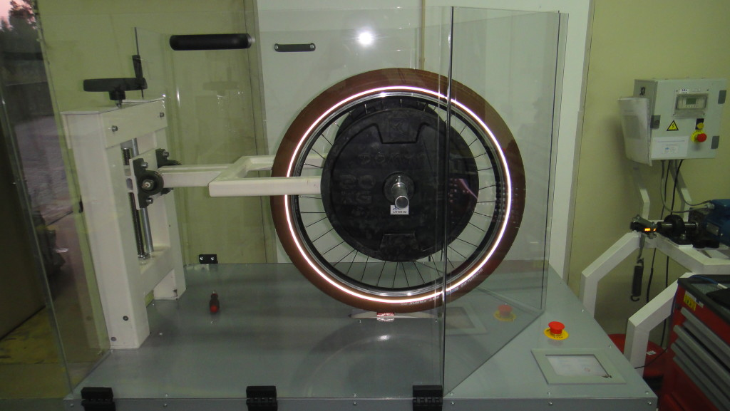 Wheel-Tyre Assembly Fatigue Test